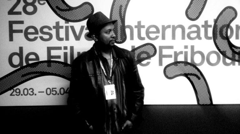 Lova Nantenaina, réalisateur de « Ady Gasy » by © tomavana | quelques minutes avant la projection en première mondiale de « Ady Gasy »  lors du 28ème édition du Festival International de Films de Fribourg [FIFF]